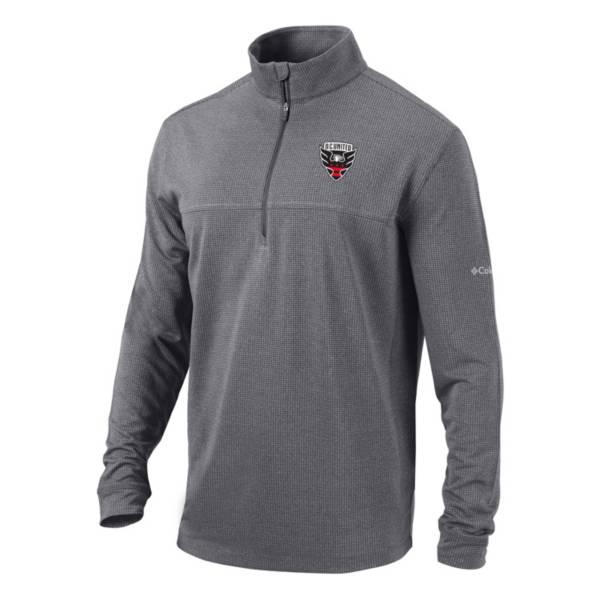 Columbia Men's D.C. United Soar Quarter-Zip Grey Pullover Shirt product image