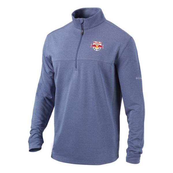 Columbia Men's New York Red Bulls Soar Quarter-Zip Navy Pullover Shirt product image