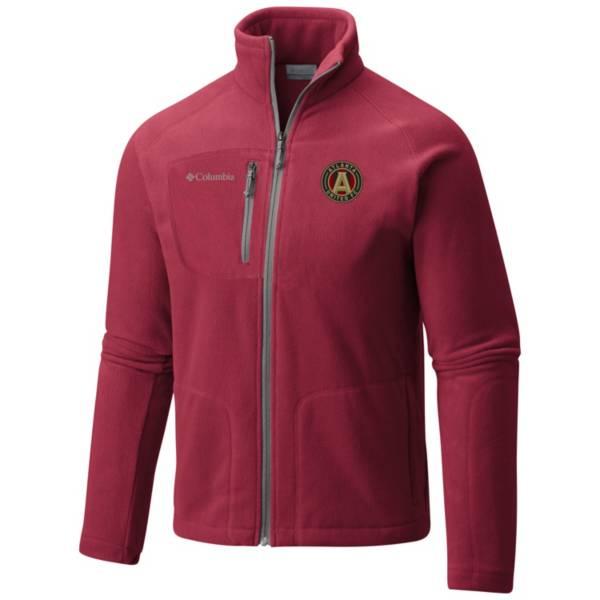Columbia Men's Atlanta United Fast Trek II Red Full-Zip Jacket product image