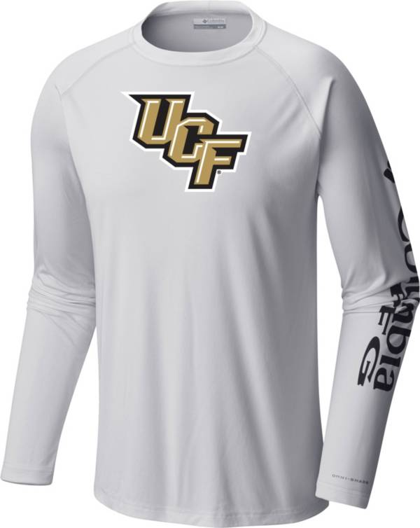 Columbia Men's UCF Knights Terminal Tackle Long Sleeve White T-Shirt product image