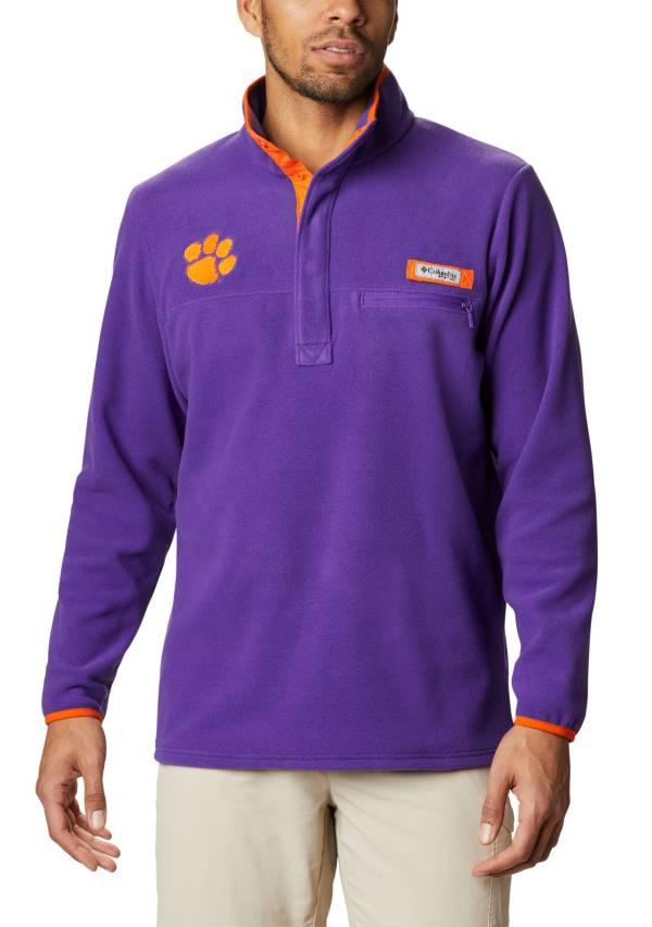Columbia Men's Clemson Tigers Regalia Harborside Fleece Pullover product image