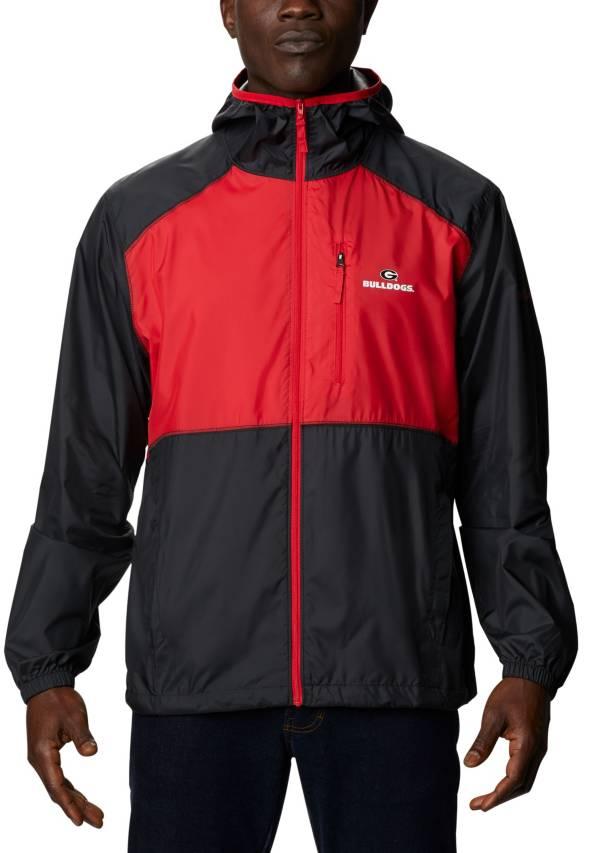 Columbia Men's Georgia Bulldogs Black Flash Forward Full-Zip Jacket product image