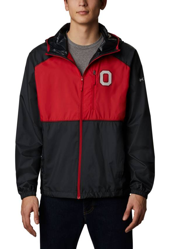 Columbia Men's Ohio State Buckeyes Flash Forward Full-Zip Black Jacket product image