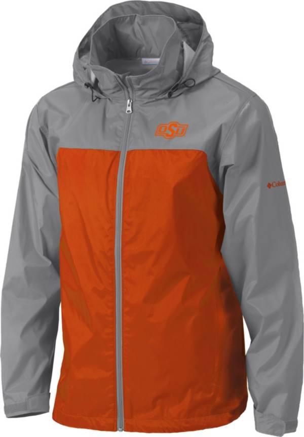 Columbia Men's Oklahoma State Cowboys Grey/Orange Glennaker Lake II Jacket product image