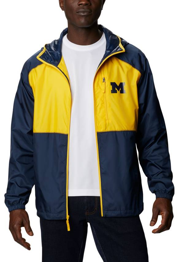 Columbia Men's Michigan Wolverines Blue Flash Forward Full-Zip Jacket product image