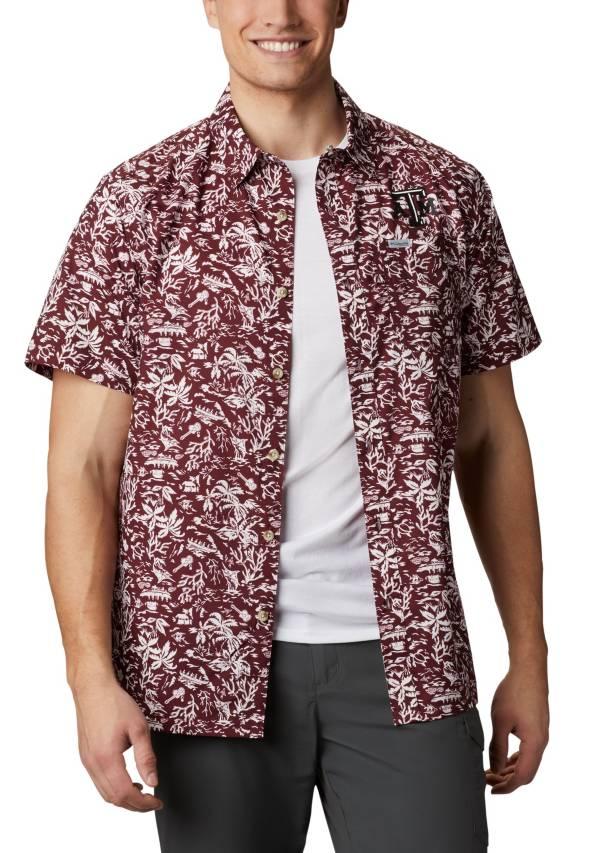Columbia Men's Texas A&M Aggies Maroon Slack Tide Button-Down Shirt product image