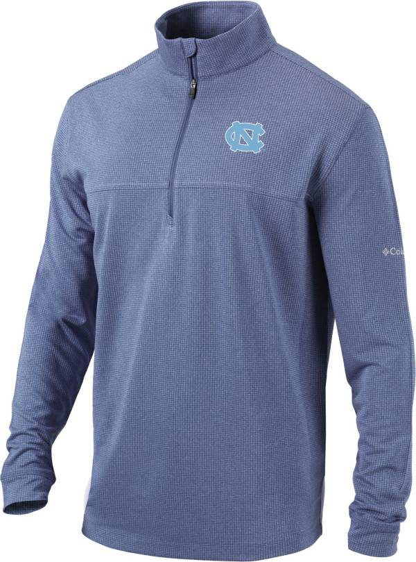 Columbia Men's North Carolina Tar Heels Navy Omni-Wick Soar Half-Zip Pullover Shirt product image