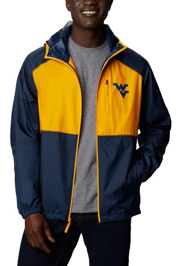 Columbia Men's West Virginia Mountaineers Blue Flash Forward Full-Zip Jacket product image