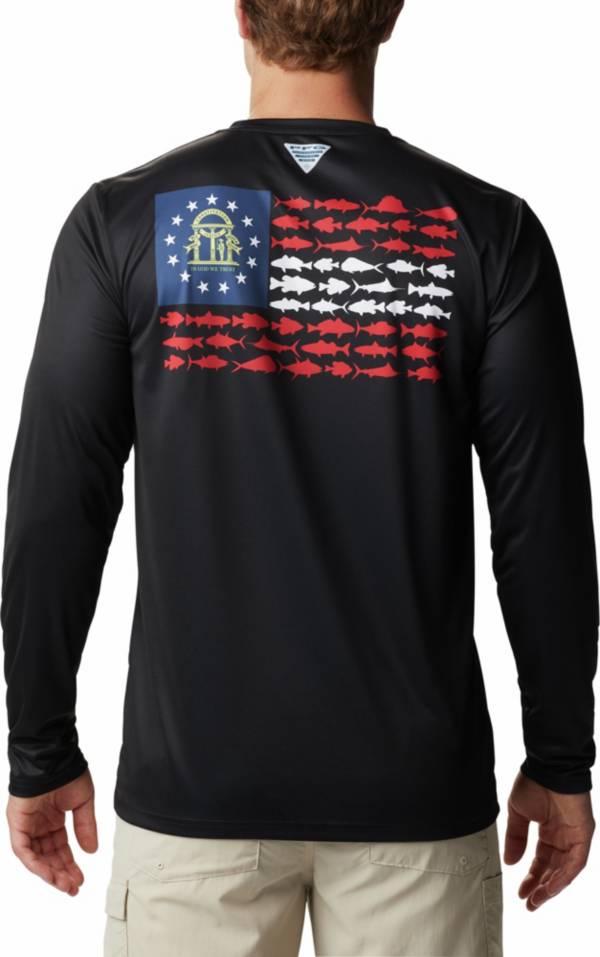 Columbia Men's PFG Terminal Tackle Fish Flag Long Sleeve Shirt product image