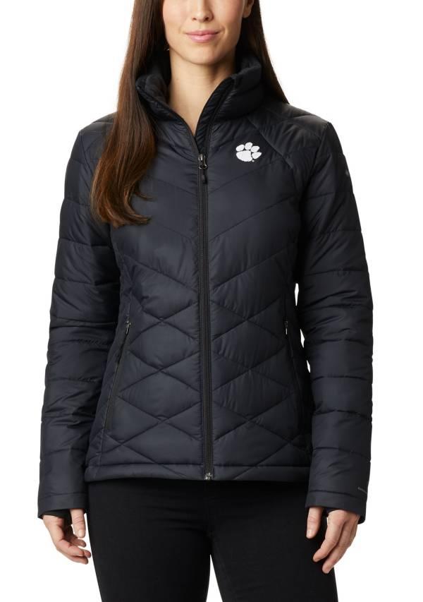 Columbia Women's Clemson Tigers Heavenly Full-Zip Black Jacket product image
