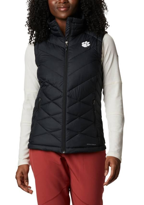 Columbia Women's Clemson Tigers Heavenly Full-Zip BlackVest product image