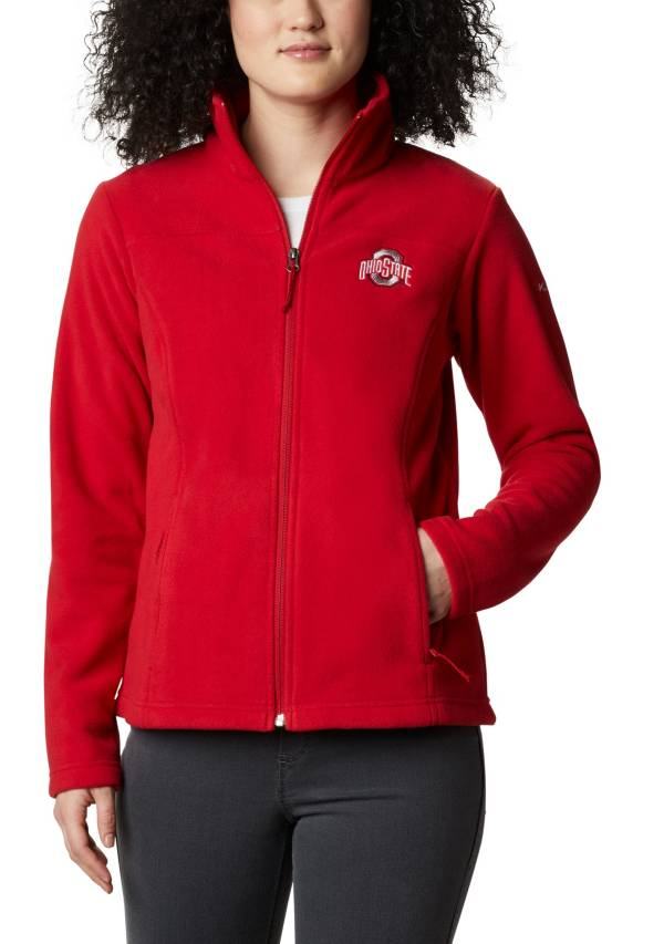 Columbia Women's Ohio State Buckeyes Scarlet Give & Go Full-Zip Jacket product image