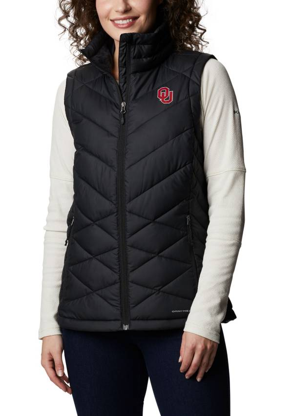 Columbia Women's Oklahoma Sooners Heavenly Full-Zip Black Jacket product image