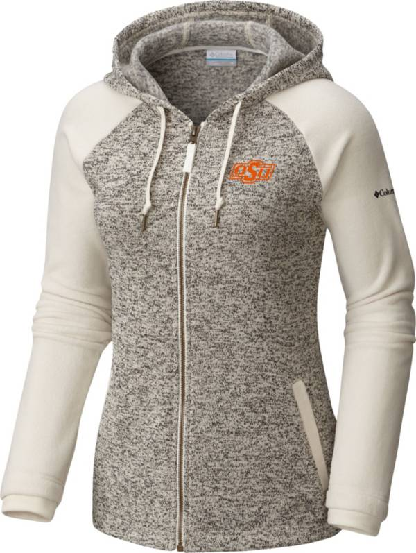 Columbia Women's Oklahoma State Cowboys Darling Days Full-Zip White Hoodie product image
