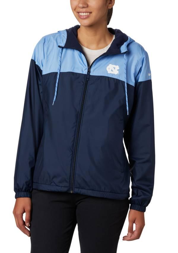Columbia Women's North Carolina Tar Heels Navy Flash Forward Lined Jacket product image