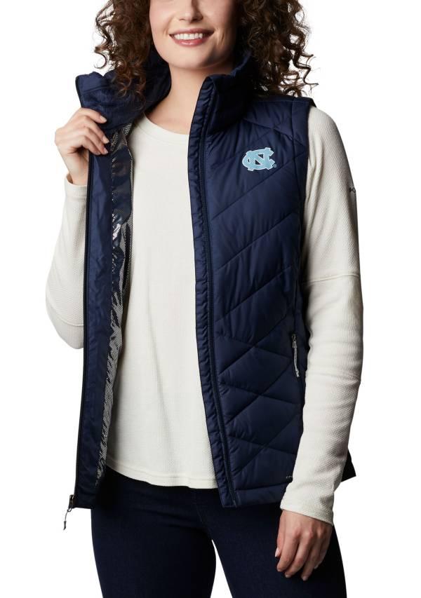Columbia Women's North Carolina Tar Heels Navy Heavenly Full-Zip Jacket product image