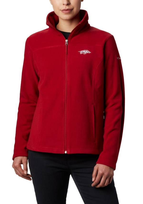 Columbia Women's Arkansas Razorbacks Cardinal Give & Go Full-Zip Jacket product image