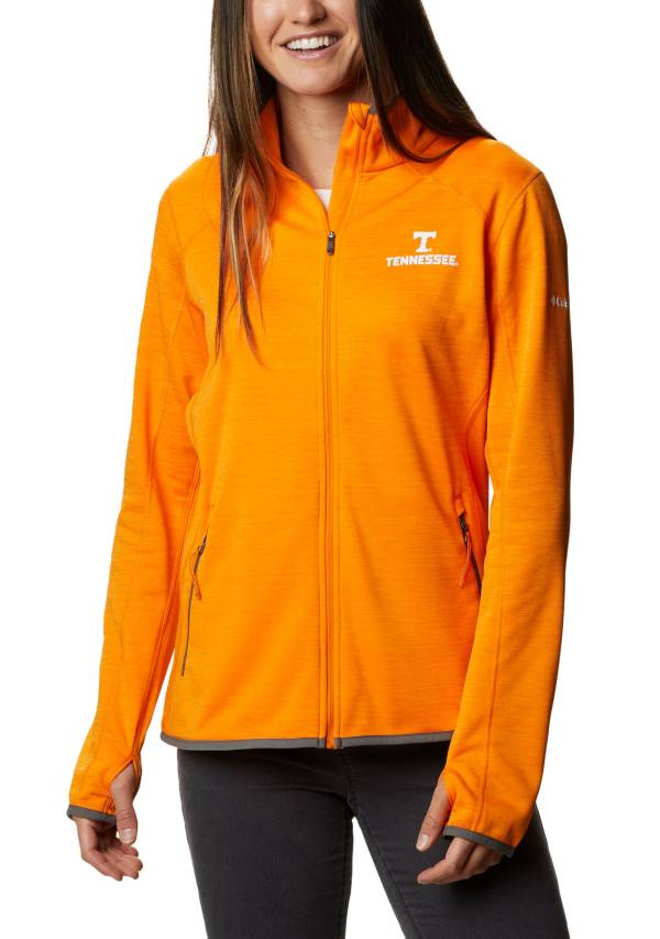 Columbia Women's Tennessee Volunteers Tennessee Orange Sapphire Trail Full-Zip Jacket product image