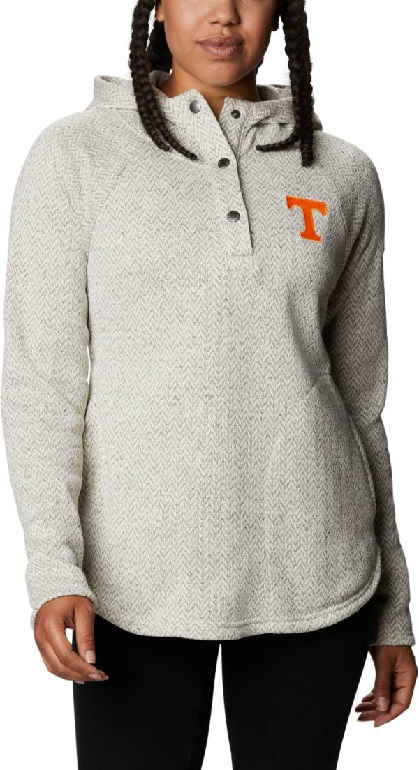 Columbia Women's Tennessee Volunteers Darling Days Quarter-Snap White Hoodie product image