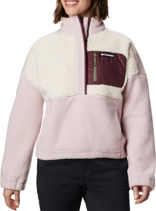 Columbia Women's Lodge Sherpa Full-Zip Sherpa Pullover product image