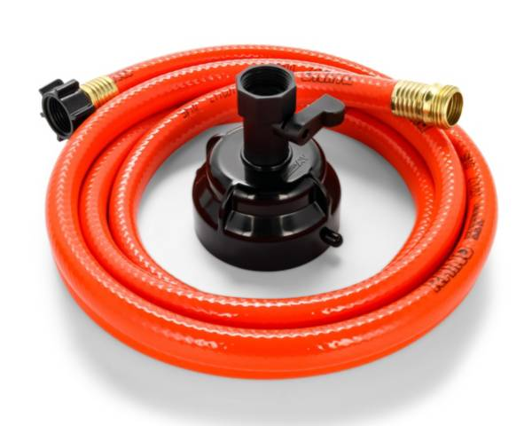 Camco RhinoFlex 10' Clean Out Hose with Rinser Cap product image