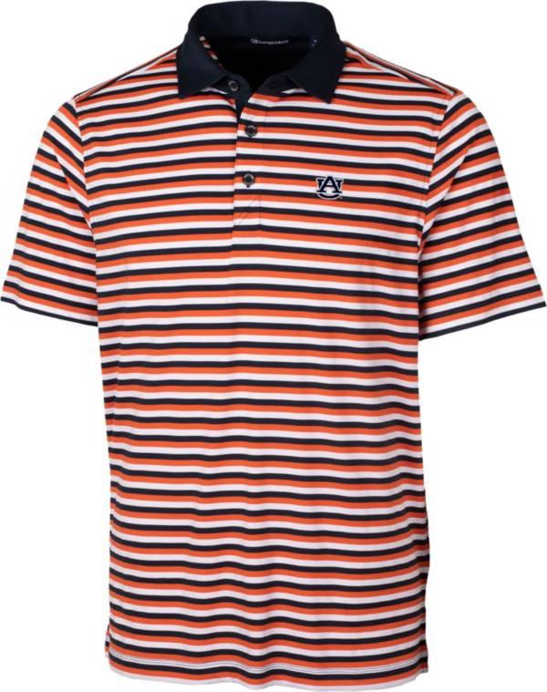 Cutter & Buck Men's Auburn Tigers Orange Forge Polo product image