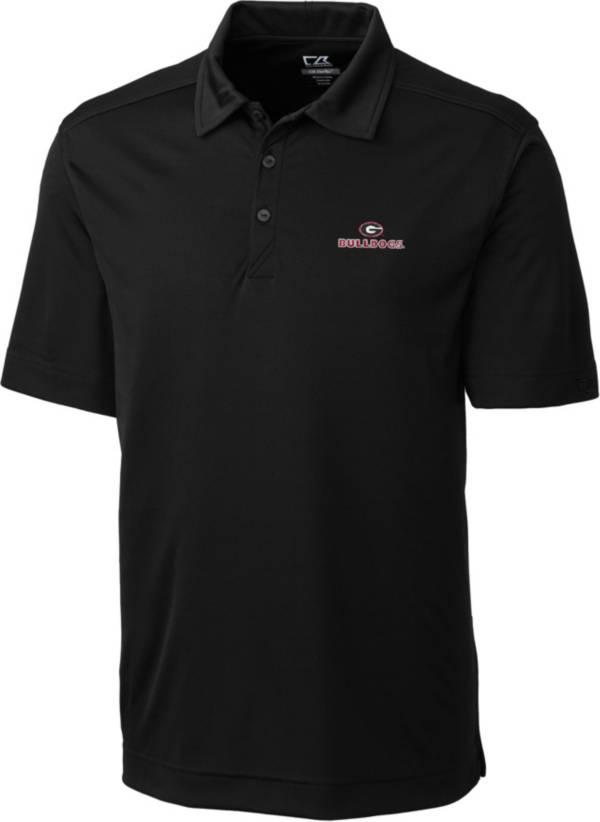 Cutter & Buck Men's Georgia Bulldogs Northgate Black Polo product image