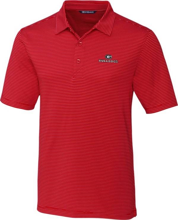 Cutter & Buck Men's Georgia Bulldogs Red Forge Polo product image