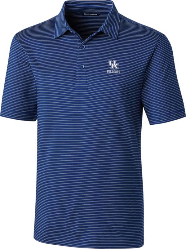 Cutter & Buck Men's Kentucky Wildcats Blue Forge Polo product image