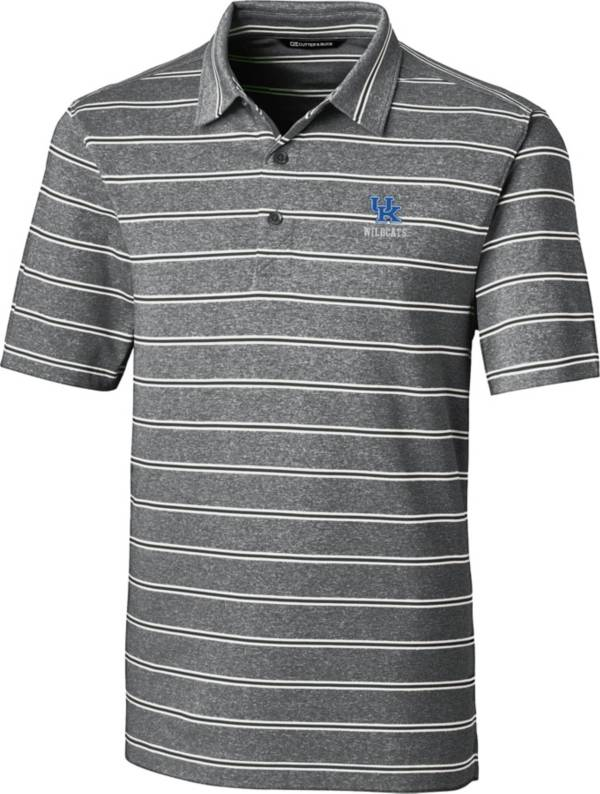 Cutter & Buck Men's Kentucky Wildcats Forge Black Polo product image