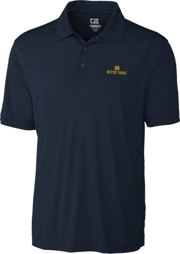 Cutter & Buck Men's Notre Dame Fighting Irish Navy Northgate Polo product image