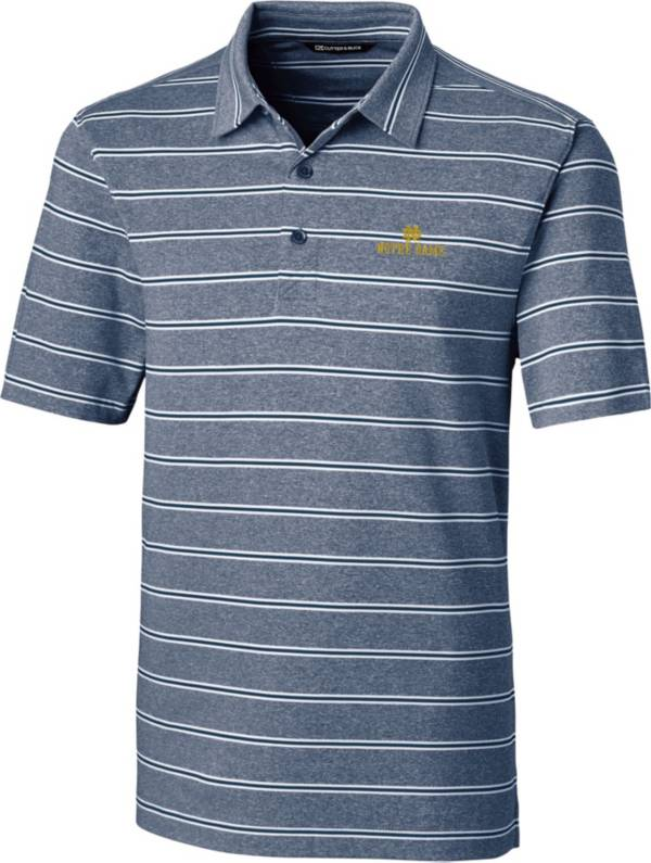 Cutter & Buck Men's Notre Dame Fighting Irish Navy Forge Polo product image
