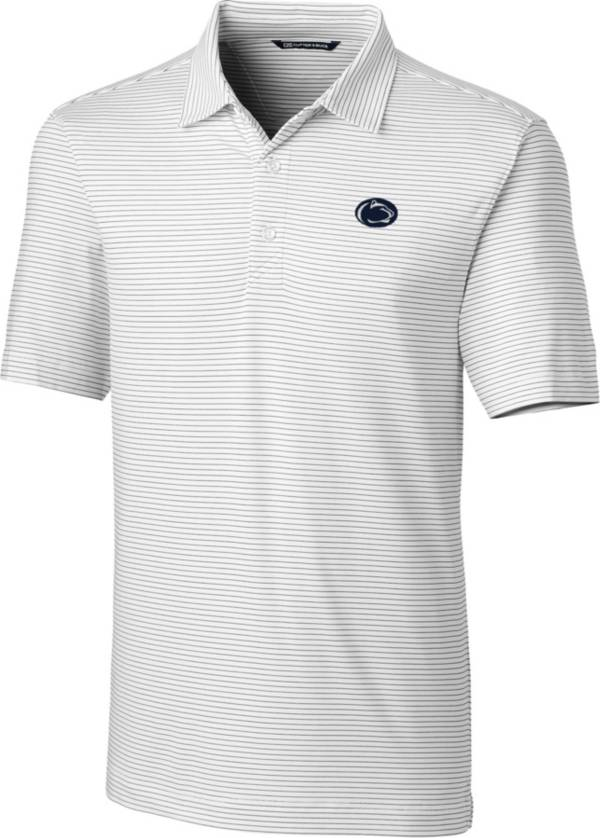 Cutter & Buck Men's Penn State Nittany Lions Forge White Polo product image
