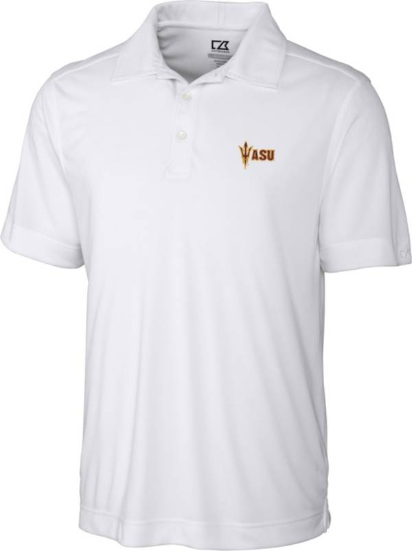 Cutter & Buck Men's Arizona State Sun Devils Northgate White Polo product image