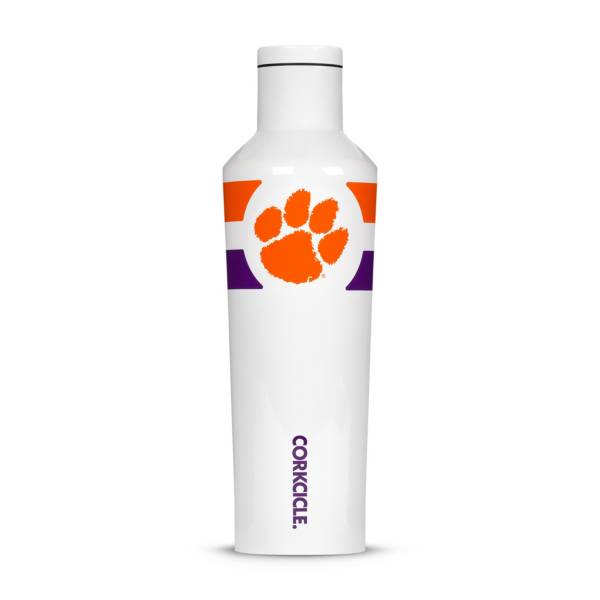 Corkcicle Clemson Tigers 16oz. Striped Canteen product image