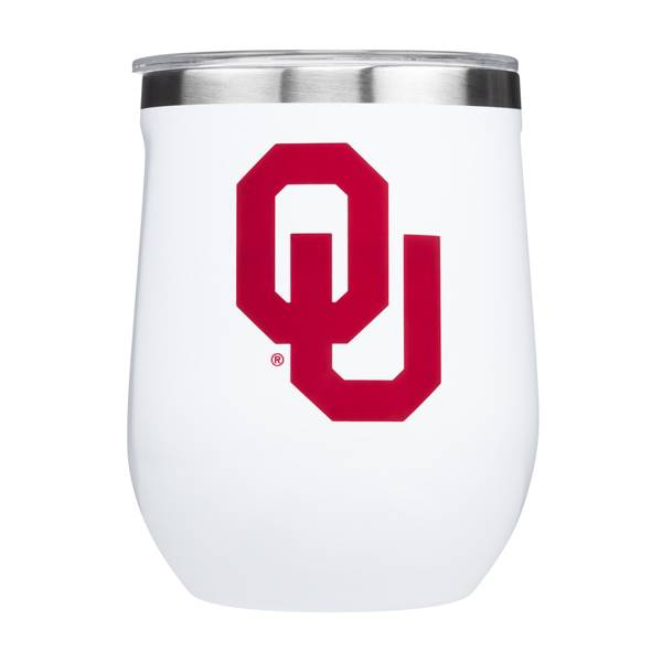 Corkcicle Oklahoma Sooners 12oz. Stemless Glass product image