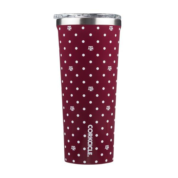 Corkcicle Texas A&M Aggies 24oz. Polka Dot Tumbler product image