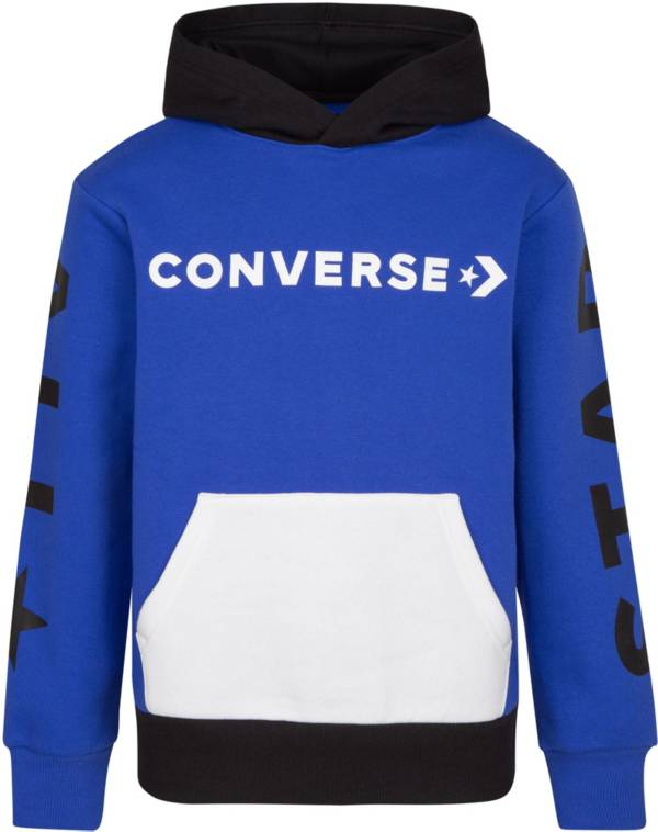 Converse Boys' All Star Color Block Pullover Hoodie product image