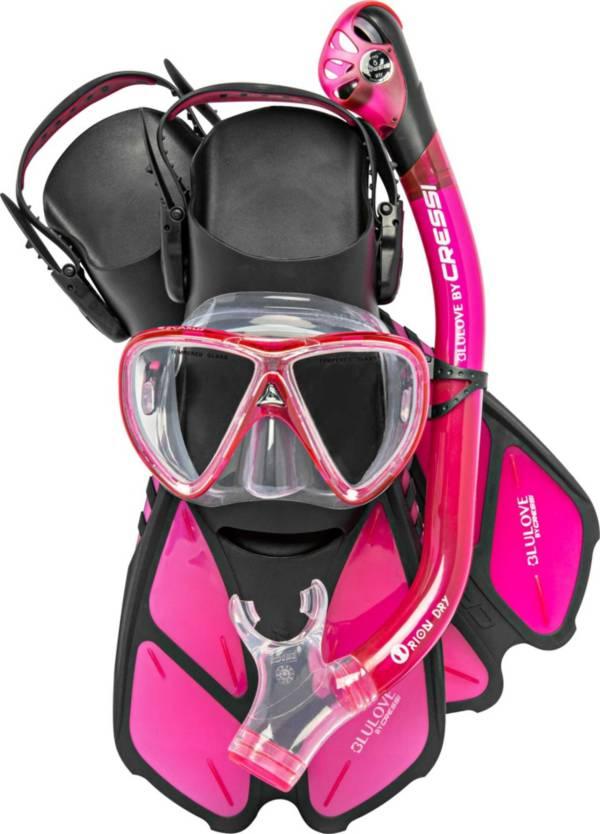 Cressi Bonete Pro Dry Snorkeling Combo product image