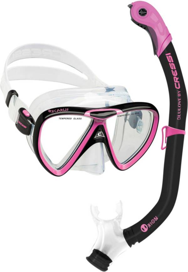 Cressi Ikarus Orion Snorkel Mask Combo product image