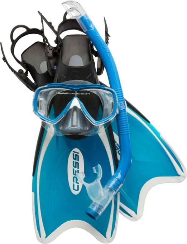 Cressi Mini Palau Snorkel Mask and Fin Combo product image