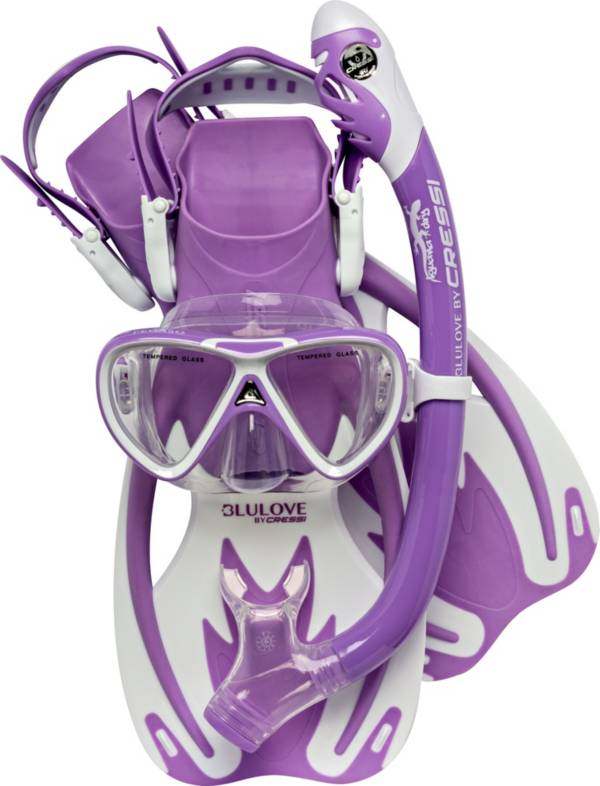Cressi Youth Rocks Pro Dry Snorkeling Set product image