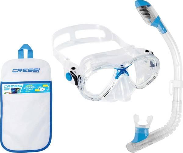 Cressi Marea Jr and Mini Dry Snorkel Mask Combo product image