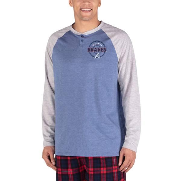 Concepts Sport Men's Atlanta Braves Raglan Long Sleeve T-Shirt product image