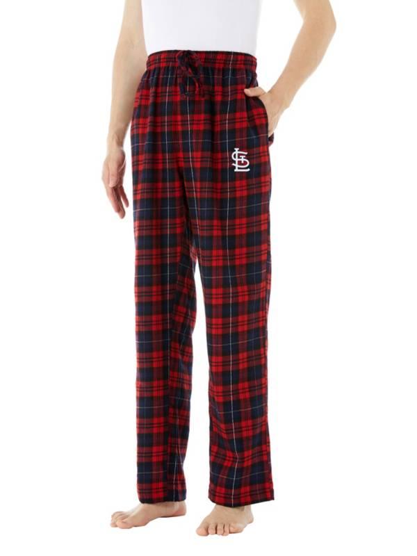 Concepts Sport Men's St. Louis Cardinals Flannel Pajama Pants product image