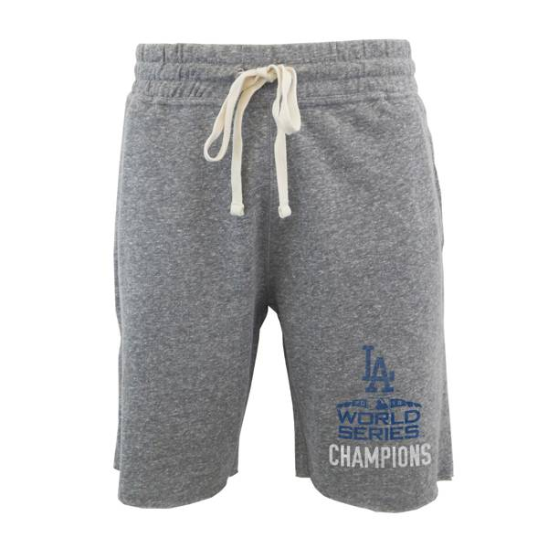 Concepts Sport Men's 2020 World Series Champions Los Angeles Dodgers Grey Sleep Short product image