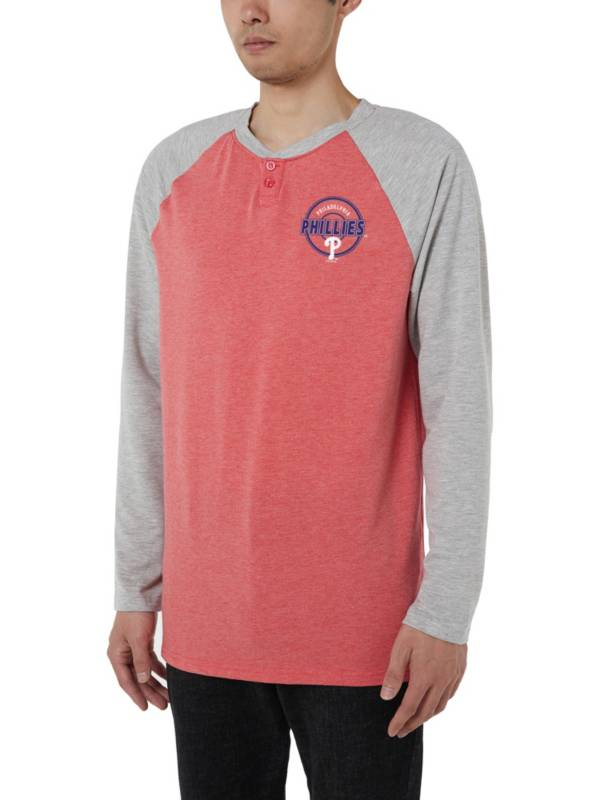 Concepts Sport Men's Philadelphia Phillies Raglan Long Sleeve T-Shirt product image