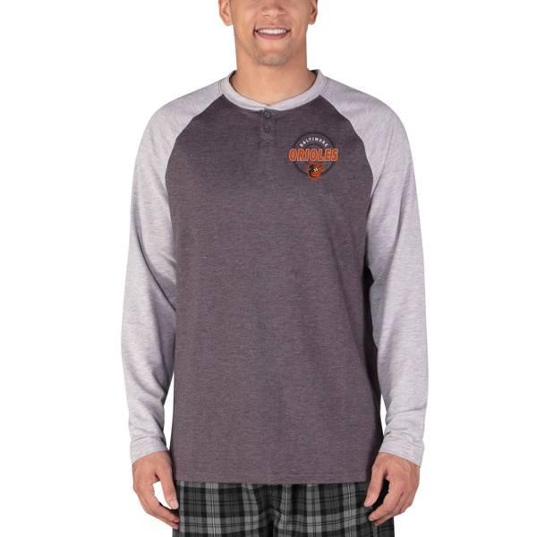 Concepts Sport Men's Baltimore Orioles Raglan Long Sleeve T-Shirt product image