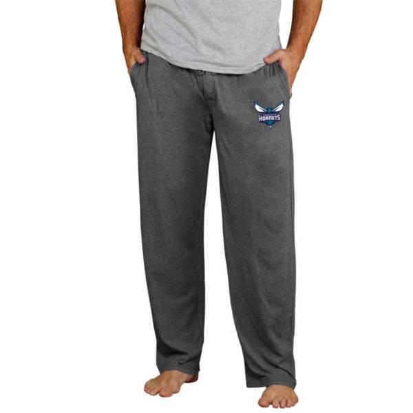 Concepts Sport Men's Charlotte Hornets Quest Grey Jersey Pants product image