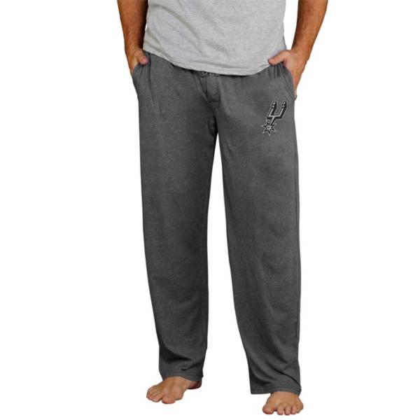Concepts Sport Men's San Antonio Spurs Quest Grey Jersey Pants product image